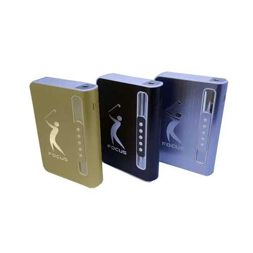 جعبه سیگار فندک دار المنتی Focus - جاسیگاری فندک دار - جعبه سیگار فندک دار - جعبه سیگار فندک دار المنتی فوکوس - جعبه سیگار اتوماتیک