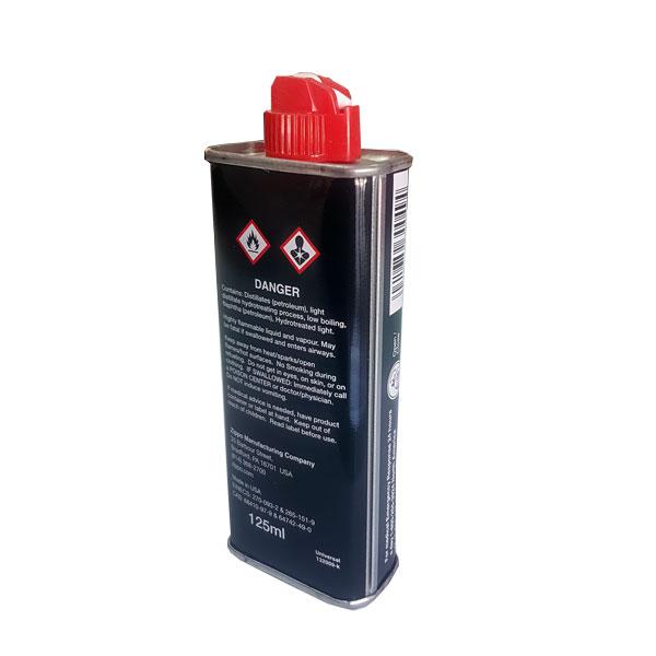 بنزین zippo 125ml بنزین مخصوص فندک زیپو . بنزین فندک . محلول فندک بنزینی