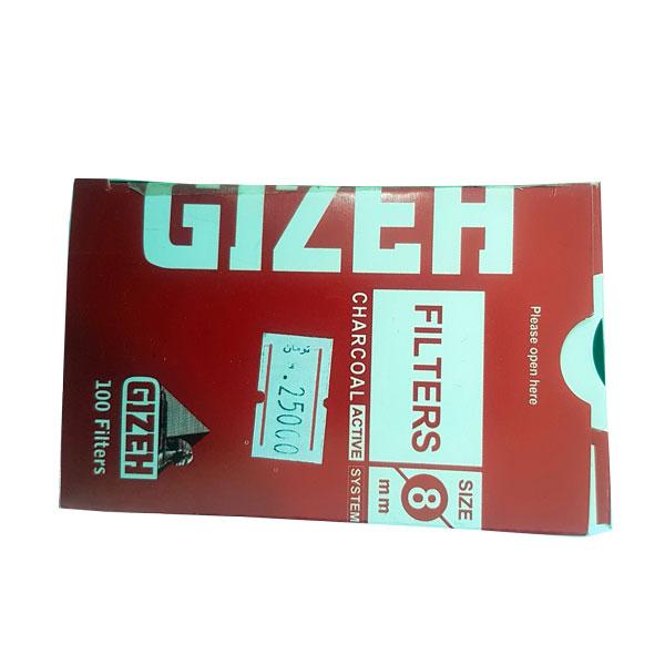 فیلتر پنبه ای GIZEH- کاملا شیک - سیگار پیچ لوکس - طراحی زیبا-