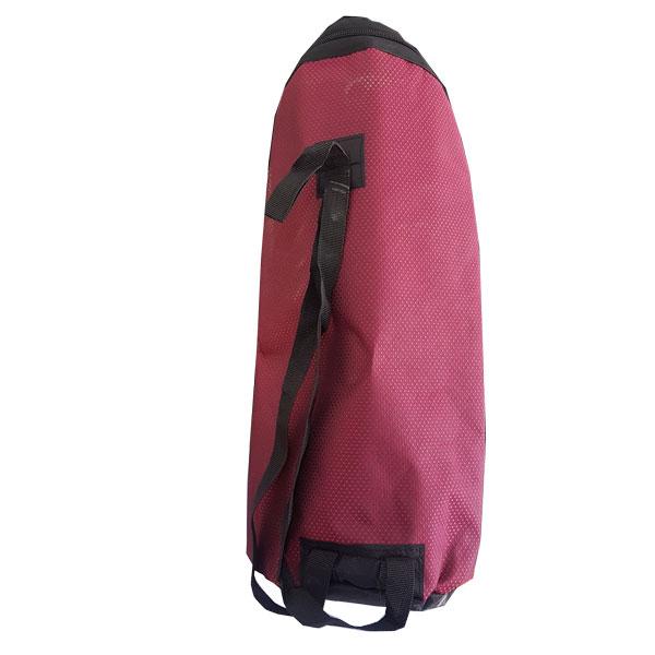 کیف قرمز قلیون سایز کوچک. کیف قلیان . ساک قلیان . جعبه قلیان . کوله پشتی قلیون .